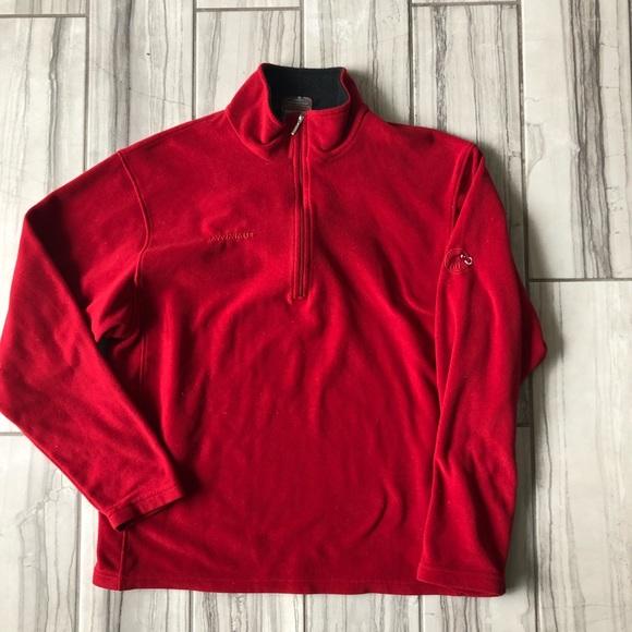 super popular ebf5f 70b9d Mammut half zip fleece pullover. EUC like new